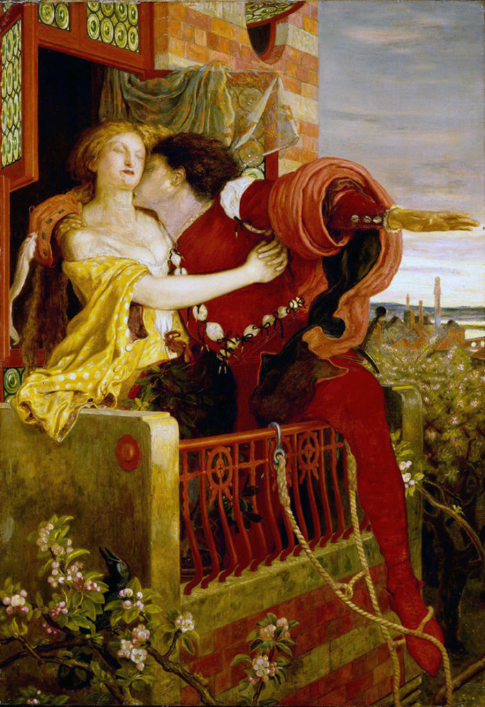 ロミオとジュリエット 絵画