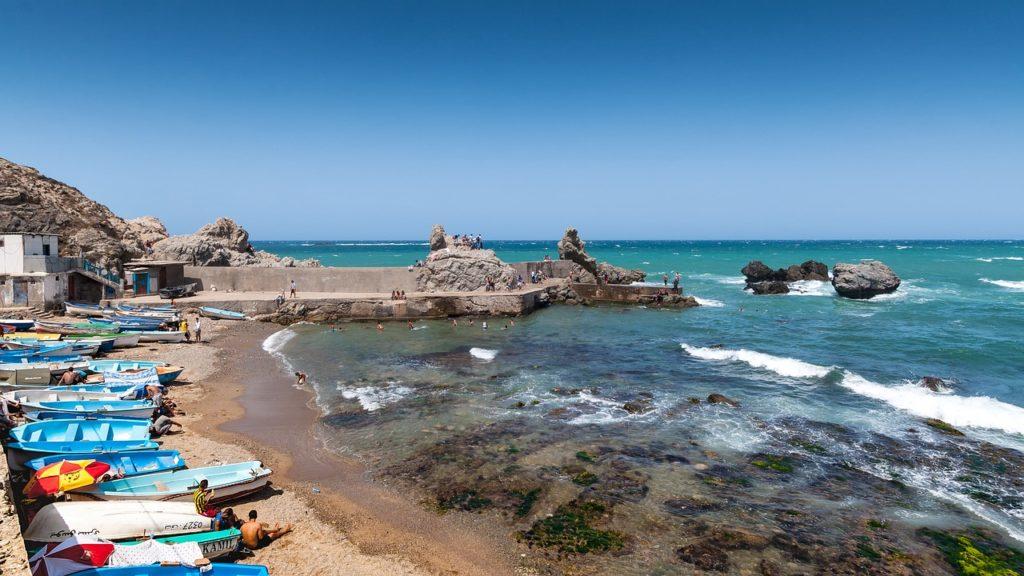 アルジェリアの海岸