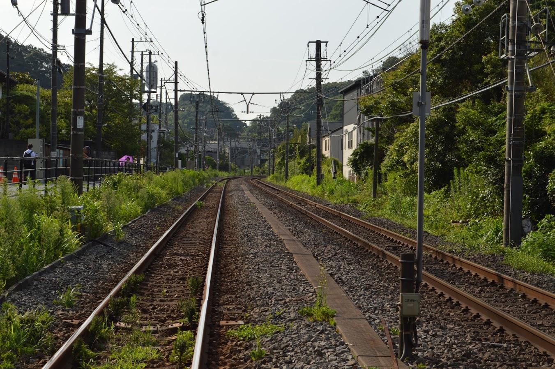 北鎌倉駅 線路