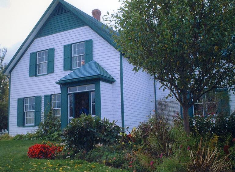 赤毛のアン モデルの家