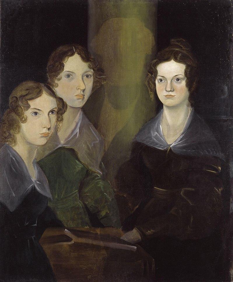 ブロンテ三姉妹 絵画